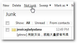 Mark-junk-mail-emails-not-spam-as-safe-in-Windows-Live-Hotmail