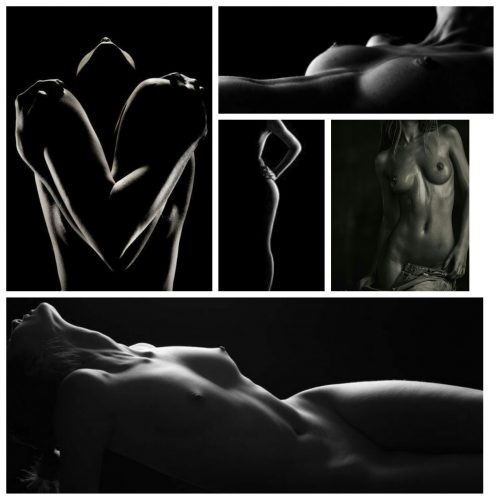Moodboard Bodyscapes (Low Key)