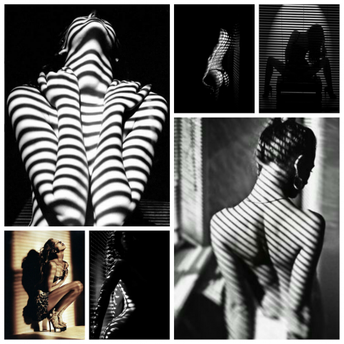 Moodboard Stripes and Shadows