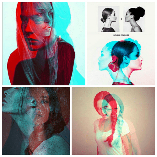 Moodboard Double Color Exposure